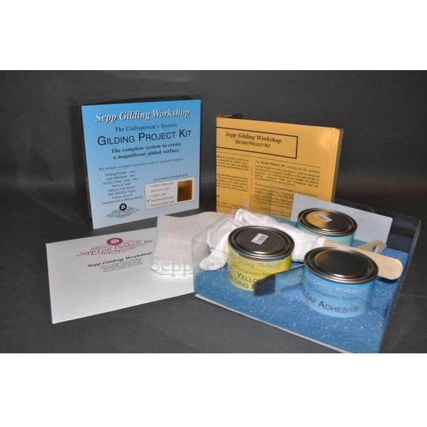 Sepp Leaf Complete Gilding Kit Genuine Gold Leaf