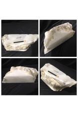 33lb Mario's White Translucent Alabaster 18x6x6 #101107