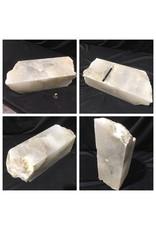 42lb Mario's White Translucent Alabaster 16x6x6 #101106