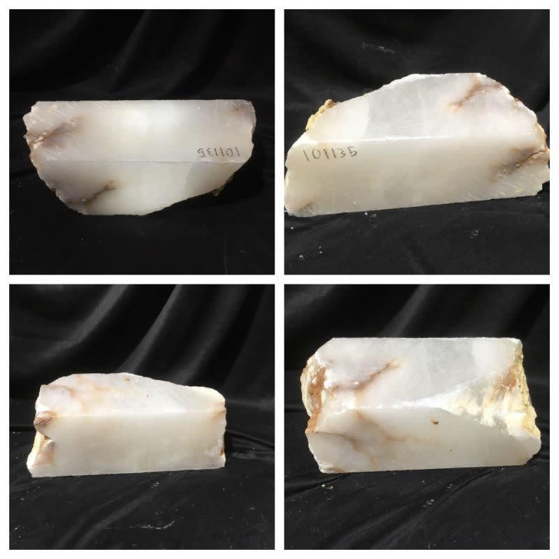 39lb Mario's White Translucent Alabaster 16x6x6 #101135