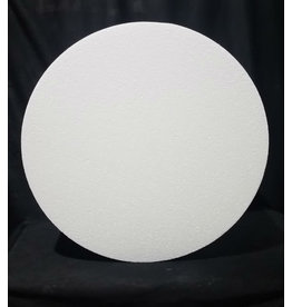 "Just Sculpt White Bead Foam Disc 21""x8"""