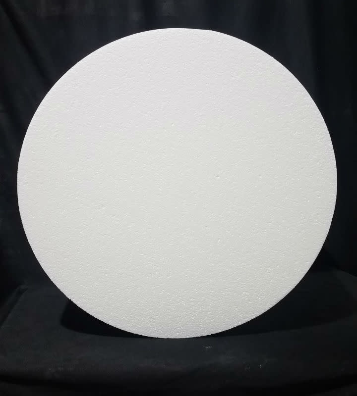 "White Bead Foam Disc 21""x8"""