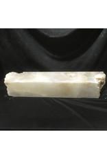 Stone 93lb Mario's White Translucent Alabaster 32x6x6 #101133