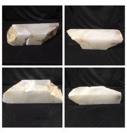 Stone 46lb Mario's White Translucent Alabaster 21x6x6 #101137