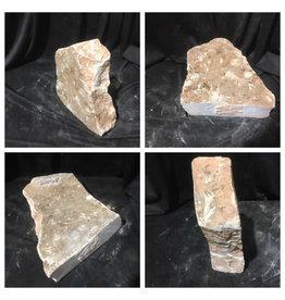 Stone 25lb Peach Translucent Alabaster 12x10x3 #251068