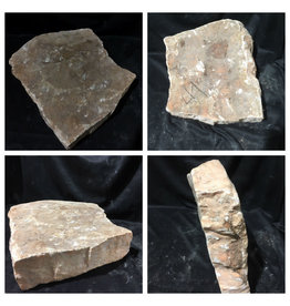 Stone 41lb Peach Translucent Alabaster 15x11x3 #251062