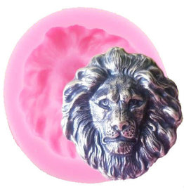 Just Sculpt Lion's Head Silicone mold