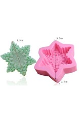 Just Sculpt Snowflake Silicone mold