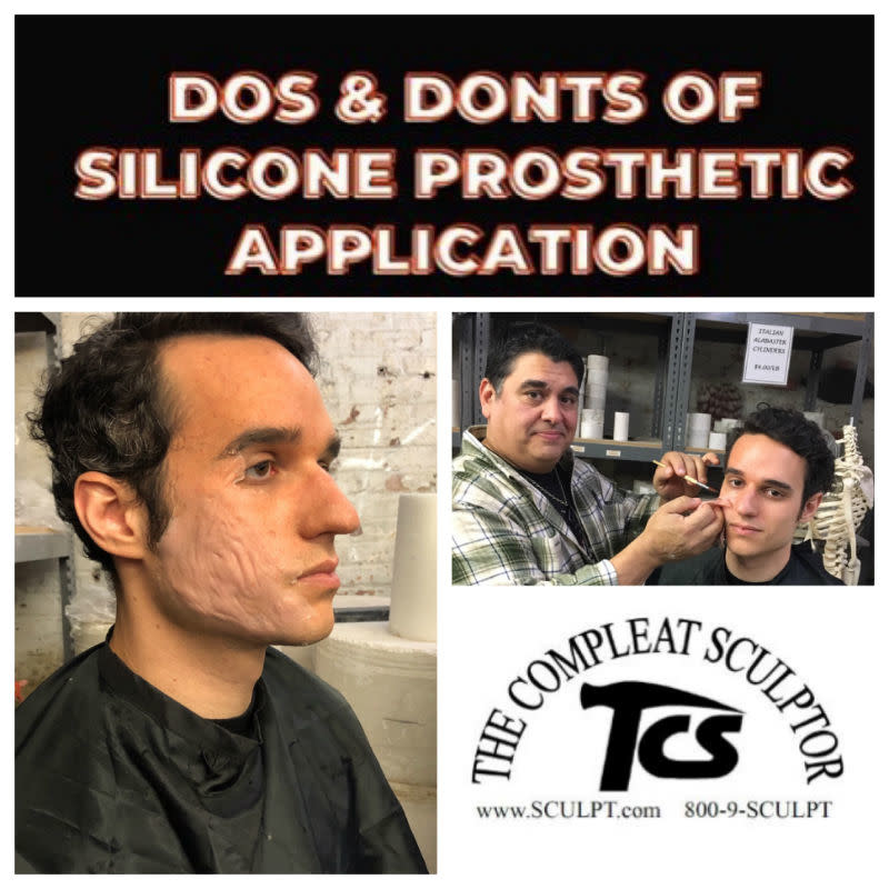 191012 Do's & Don'ts Of Silicone Prosthetic Application Demo October 12 11am-5pm JTM