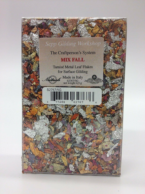 Sepp Leaf Tamise -Variegated Mix Fall Leaf Flakes 4.5g