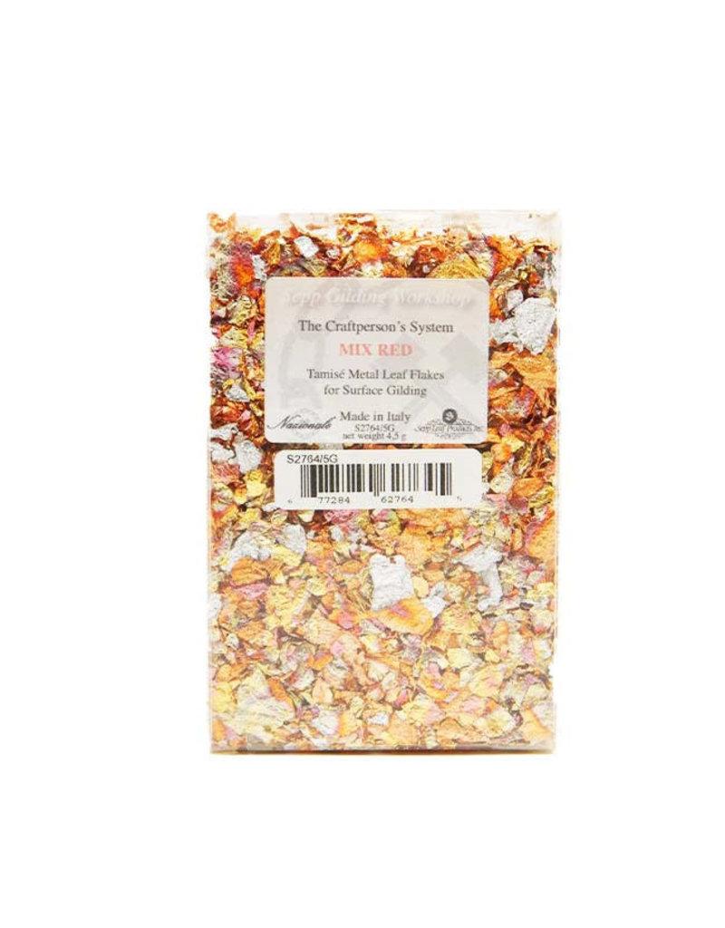 Sepp Leaf Tamise -Variegated Mix Red Leaf Flakes 4.5g