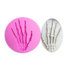 Just Sculpt Bone Hand Silicone Mold