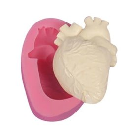 Just Sculpt Heart Silicone Mold