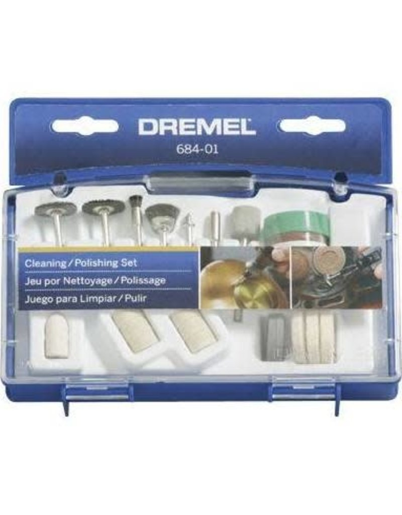 Dremel 684-01 Cleaning/Polishing Accessory Set