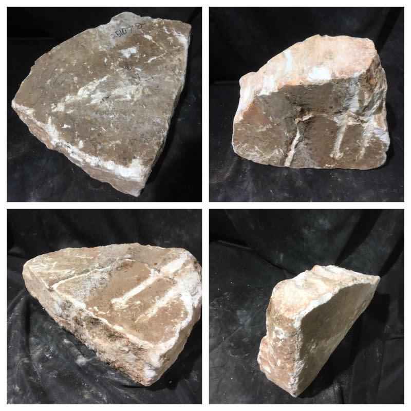 Stone 56lb Peach Translucent Alabaster 15x12x5 #251072