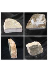 Stone 58lb Peach Translucent Alabaster 14x12x4 #251075