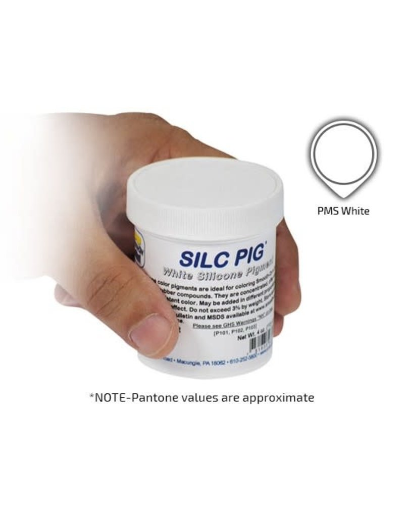 Smooth-On Silc Pig White 4oz Pigment