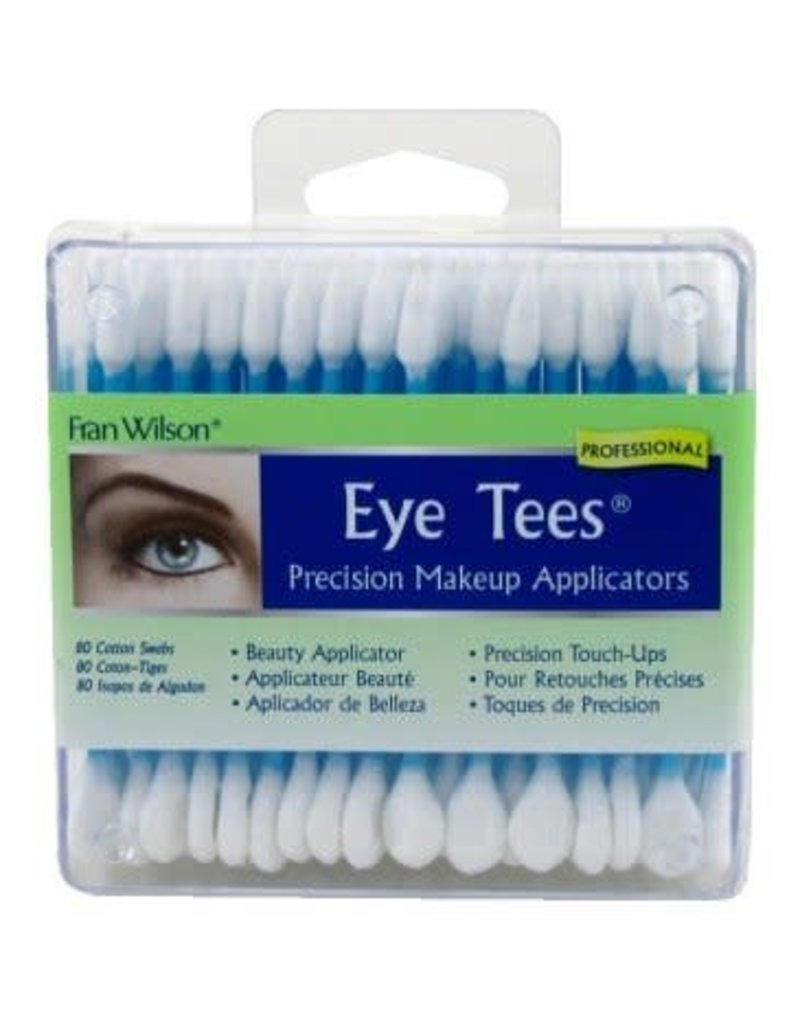 Just Sculpt Eye Tees Makeup Cotton Swabs (80 Pack)