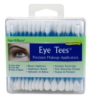 Just Sculpt Eye Tees Makeup Cotton Swabs (80 Pack)