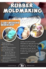TCS Classes 200110 Mold-Making Hands-On Intensive Workshop January 10-12