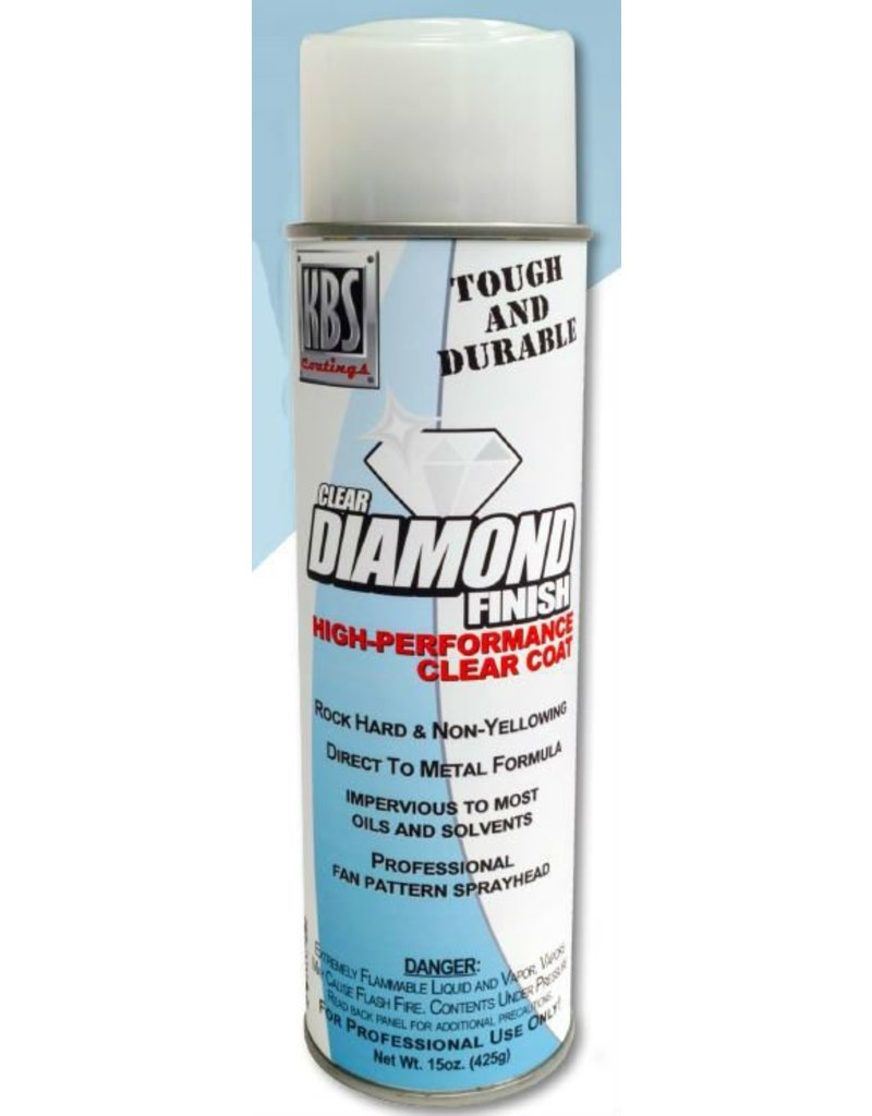 KBS Diamond Clear Finish Gloss 15oz Spray