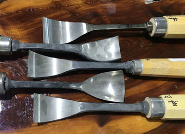 Hand Short Bend Spoon Chisels