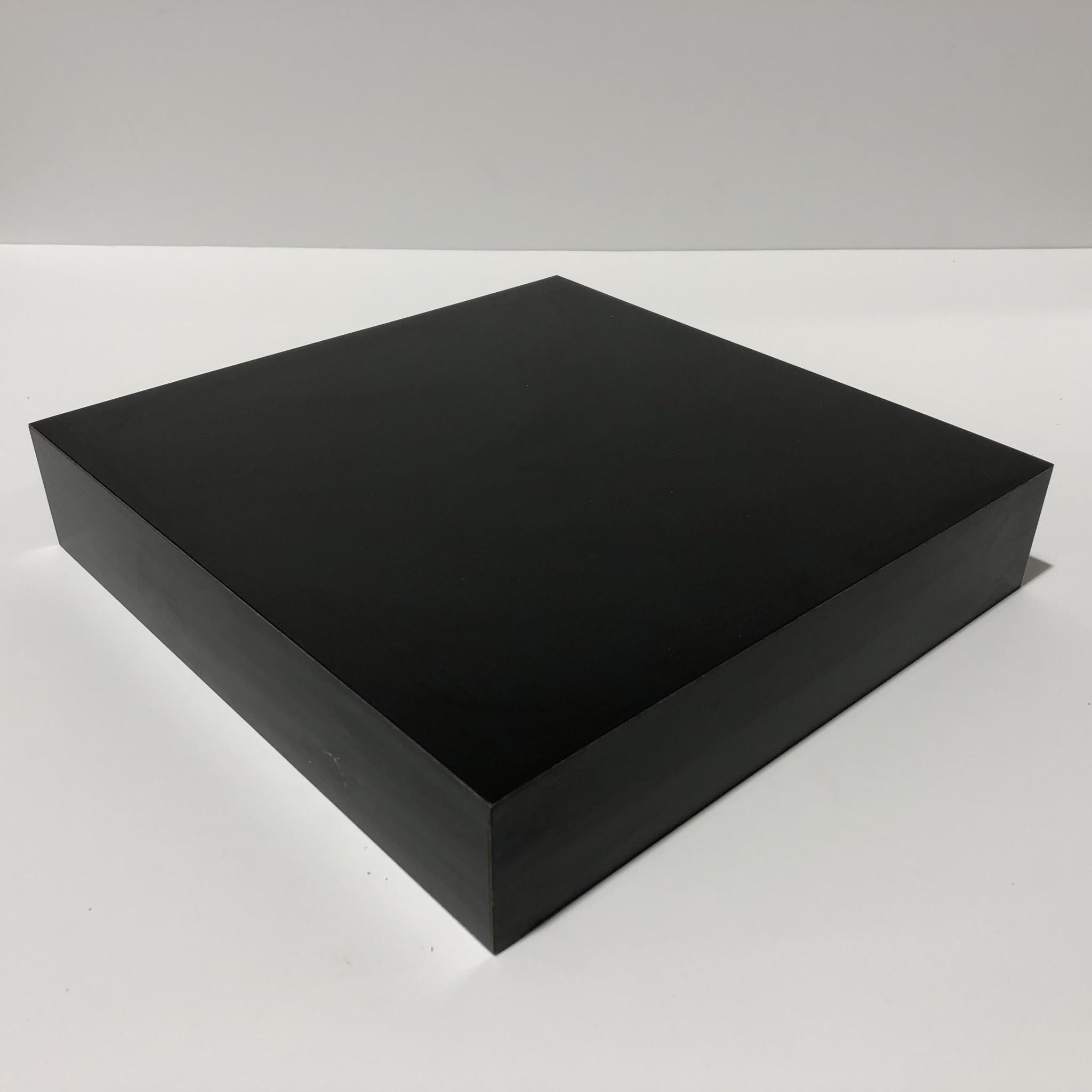 Just Sculpt Formica Base 10x10x2 Matte Black