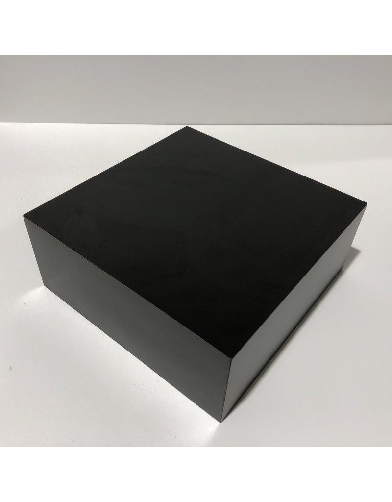 Just Sculpt Formica Base 10x10x4 Matte Black