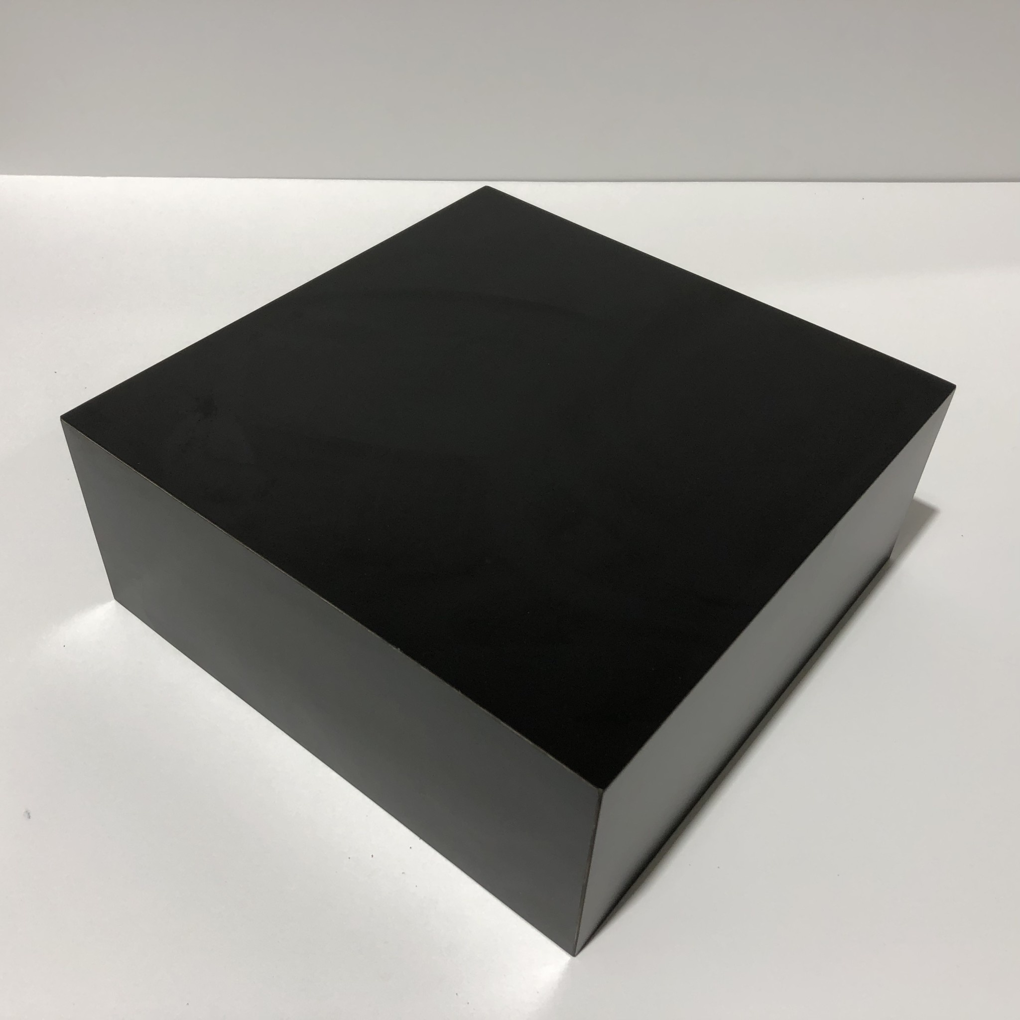 Just Sculpt Formica Base 10x10x4 Matte Black