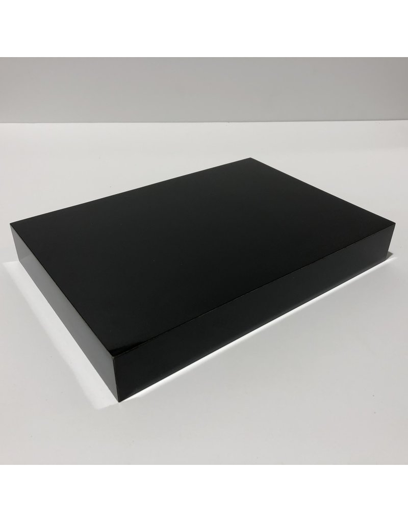 Just Sculpt Formica Base 10x7x1.5 Gloss Black