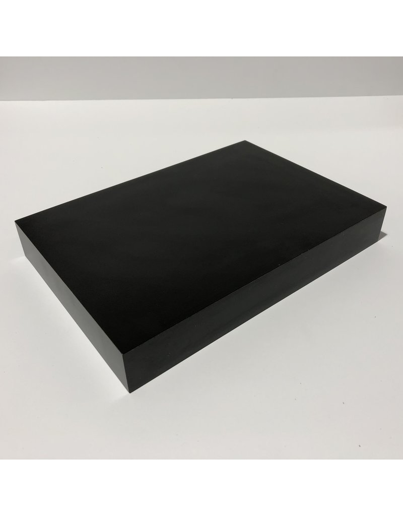 Just Sculpt Formica Base 10x7x1.5 Matte Black