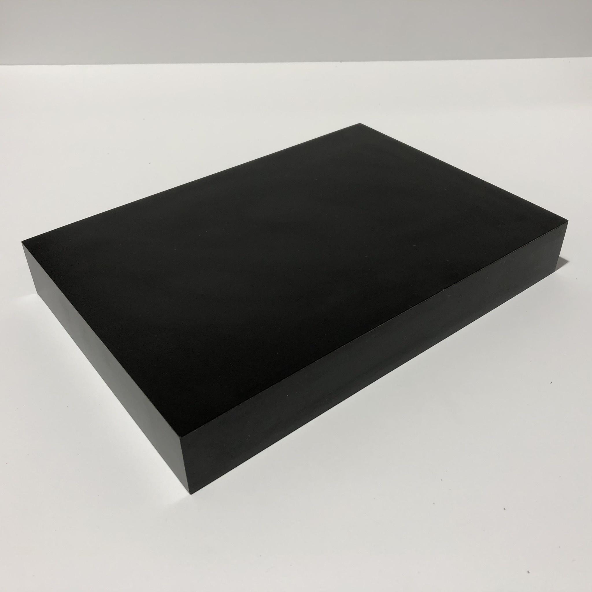 Just Sculpt Formica Base 10x7x1.5 Matte Black