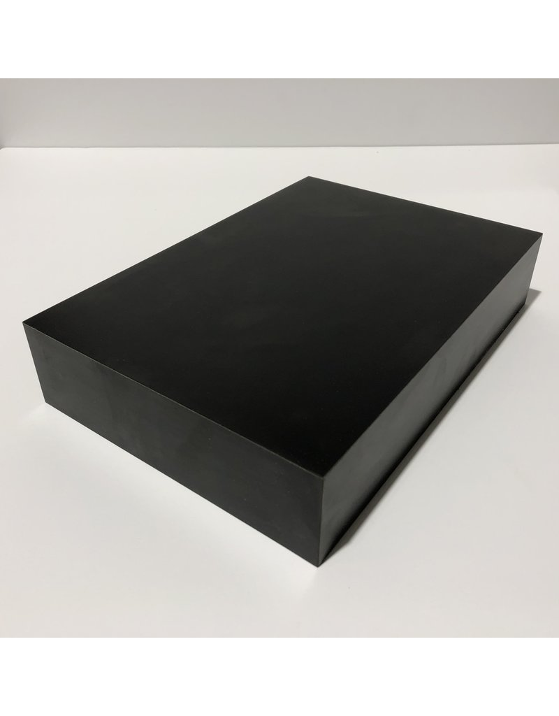 Just Sculpt Formica Base 10x7x2 Matte Black