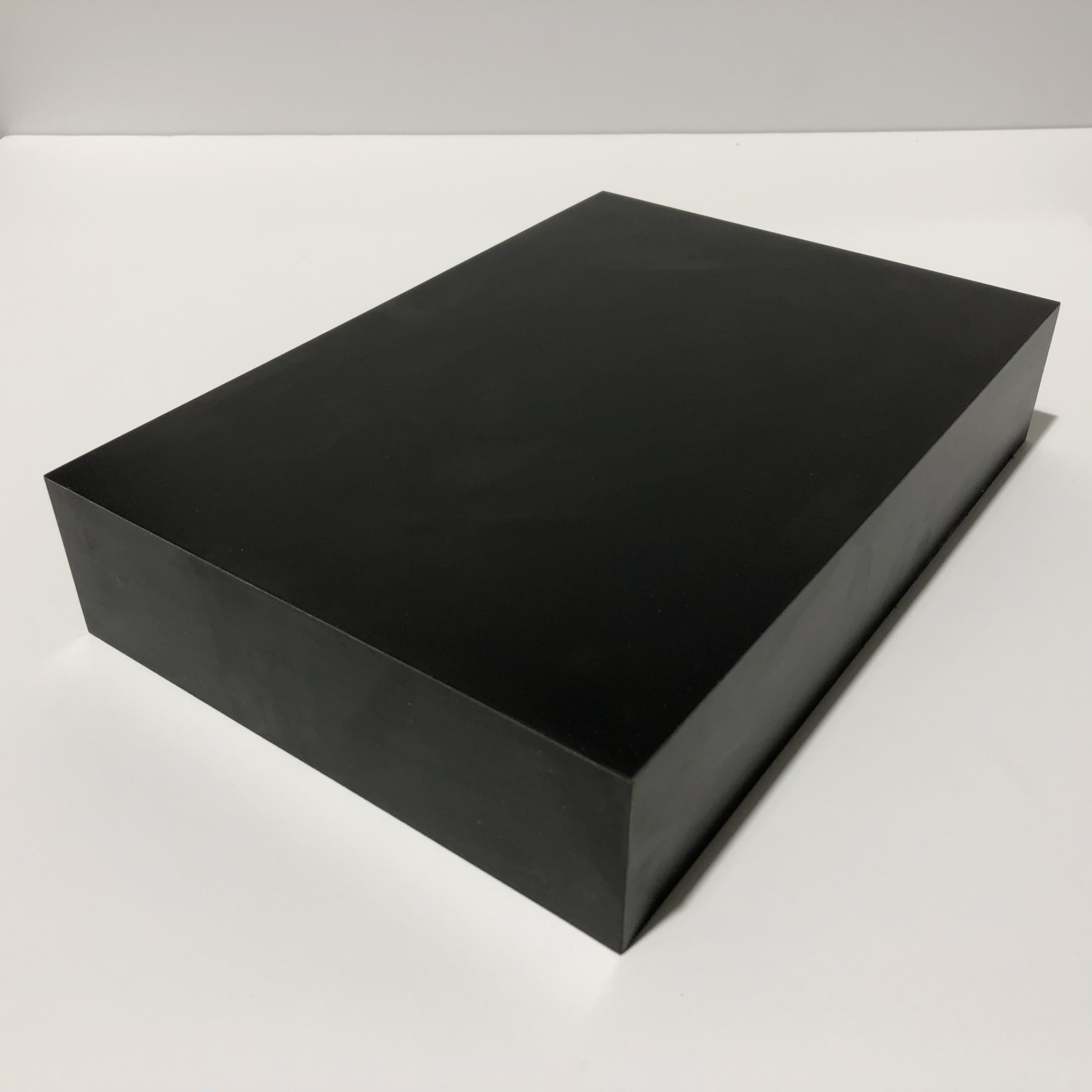 Just Sculpt Formica Base 10x7x2 Matte Black