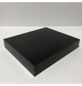 Just Sculpt Formica Base 12x10x2 Matte Black