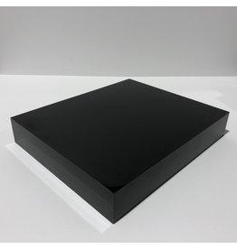 Just Sculpt Formica Base 12x10x2 Gloss Black