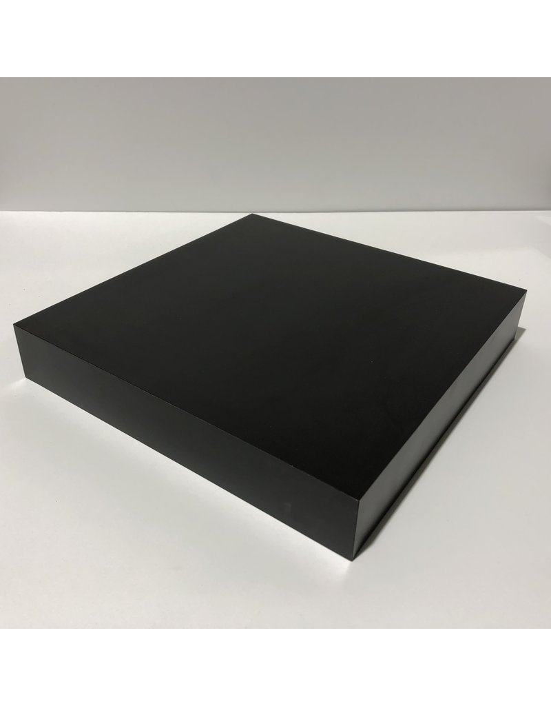 Just Sculpt Formica Base 12x12x2 Matte Black