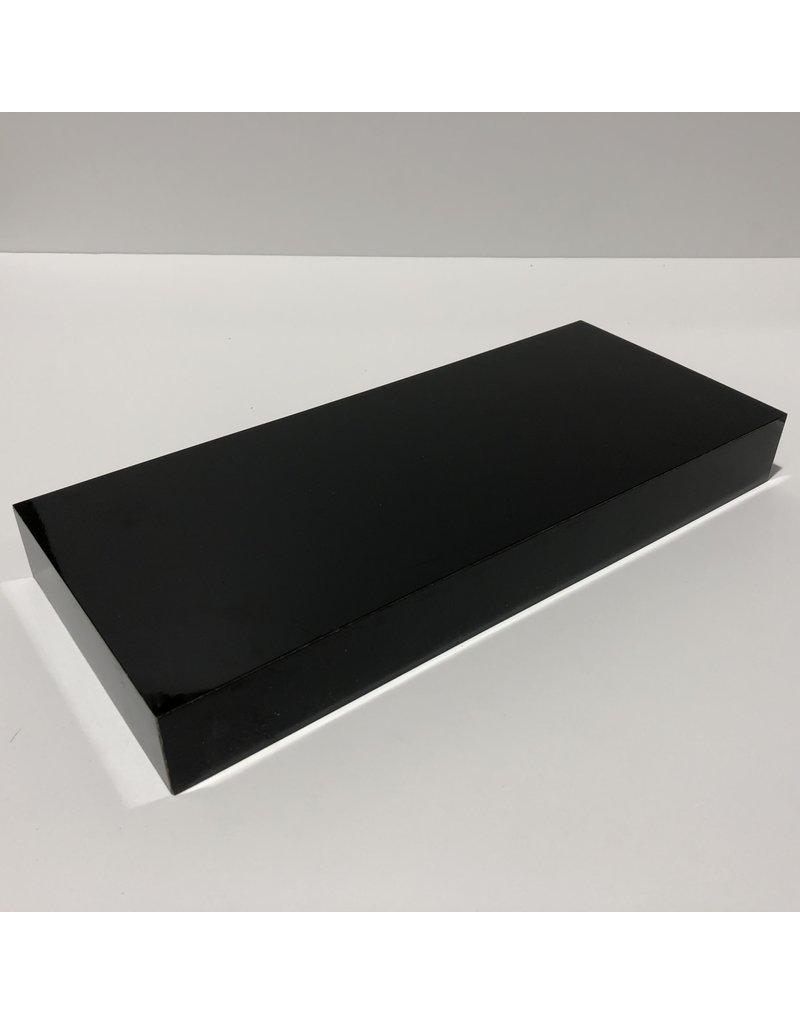 Just Sculpt Formica Base 12x5x1.5 Gloss Black
