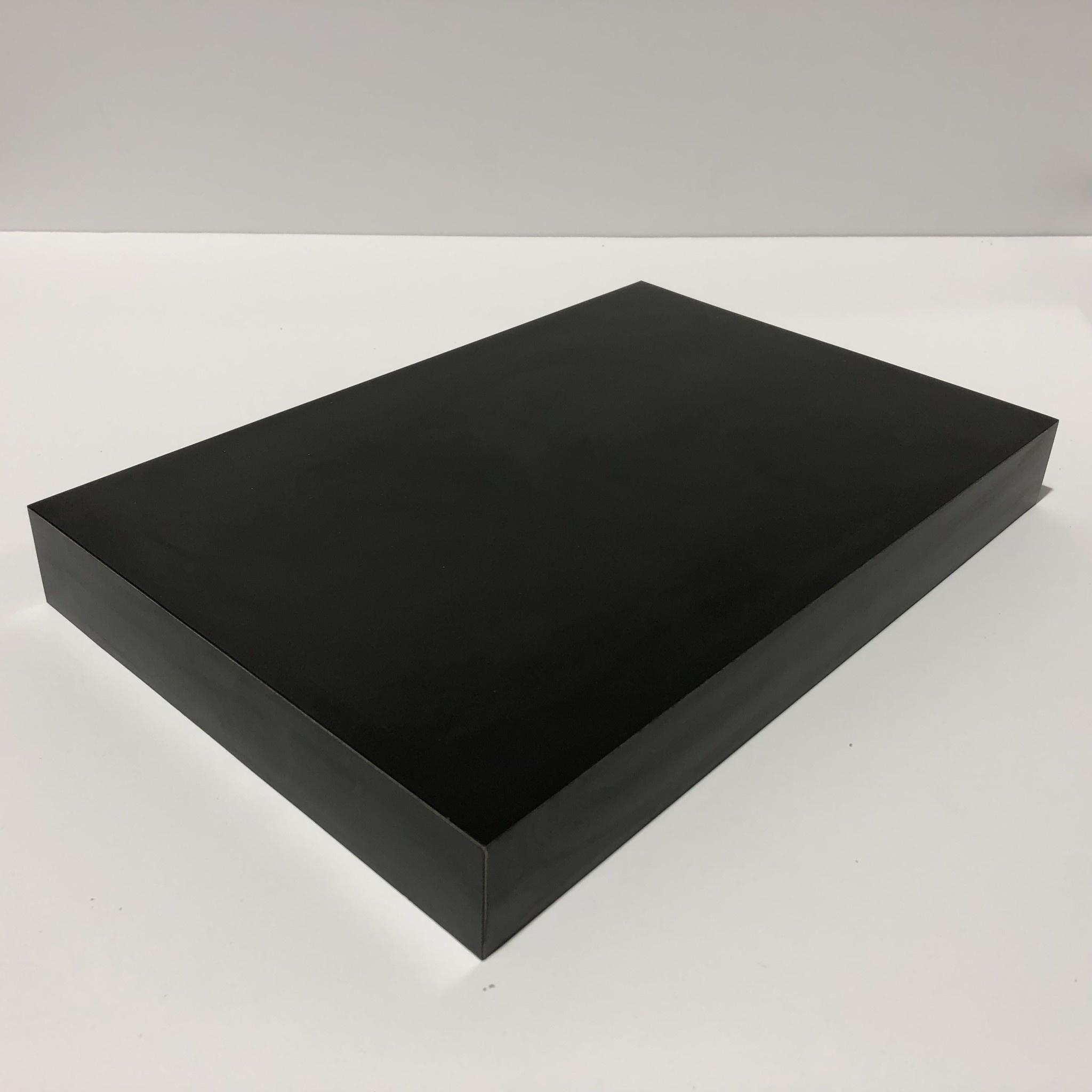 Just Sculpt Formica Base 12x8x1.5 Matte Black