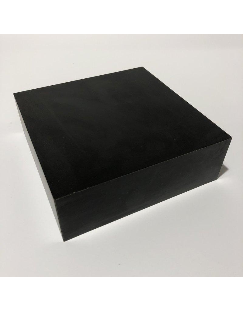 Just Sculpt Formica Base 6x6x2 Matte Black
