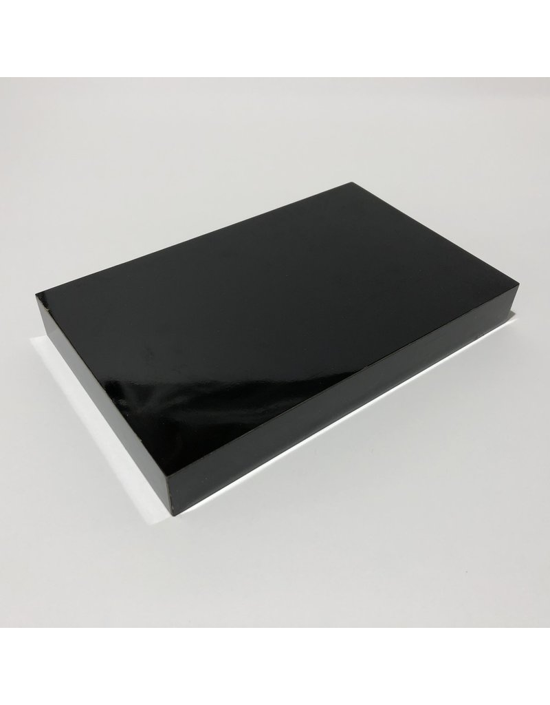 Just Sculpt Formica Base 8x5x1 Gloss Black