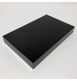 Just Sculpt Formica Base 8x5x1 Matte Black