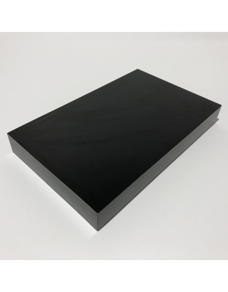 Just Sculpt Formica Base 8x5x1 Matte Black