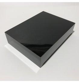 Just Sculpt Formica Base 8x6x2 Gloss Black