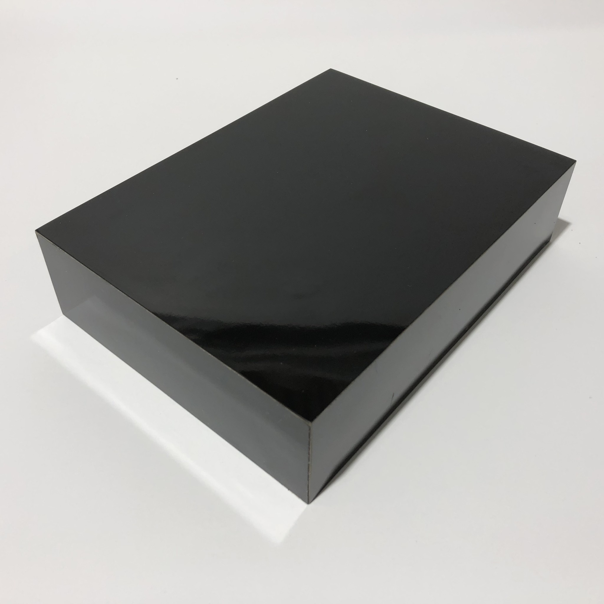 Just Sculpt Formica Base 8x6x2 Gloss Black