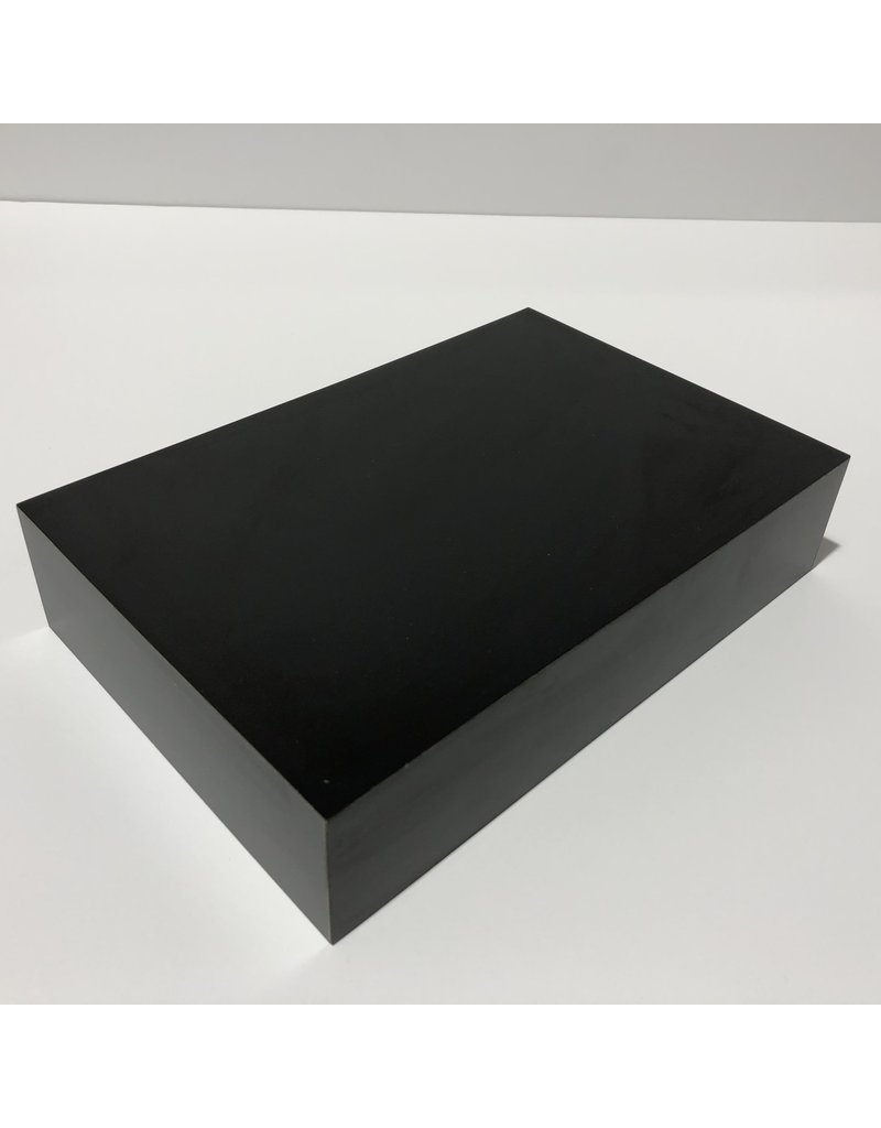 Just Sculpt Formica Base 9x6x2 Matte Black