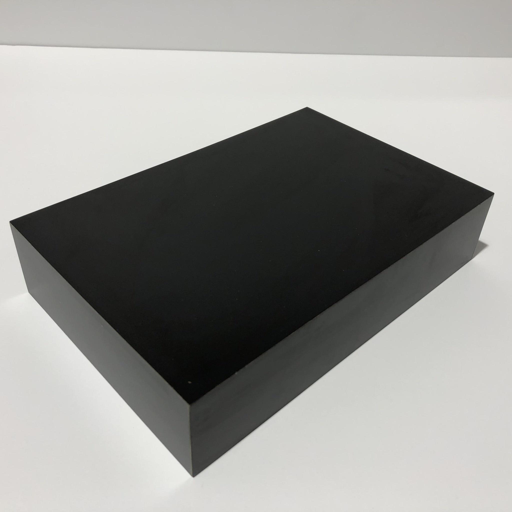 Just Sculpt Formica Base 9x6x2 Matte Black