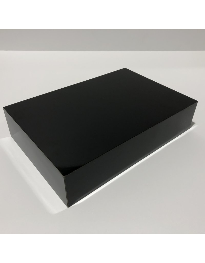 Just Sculpt Formica Base 9x6x2 Gloss Black