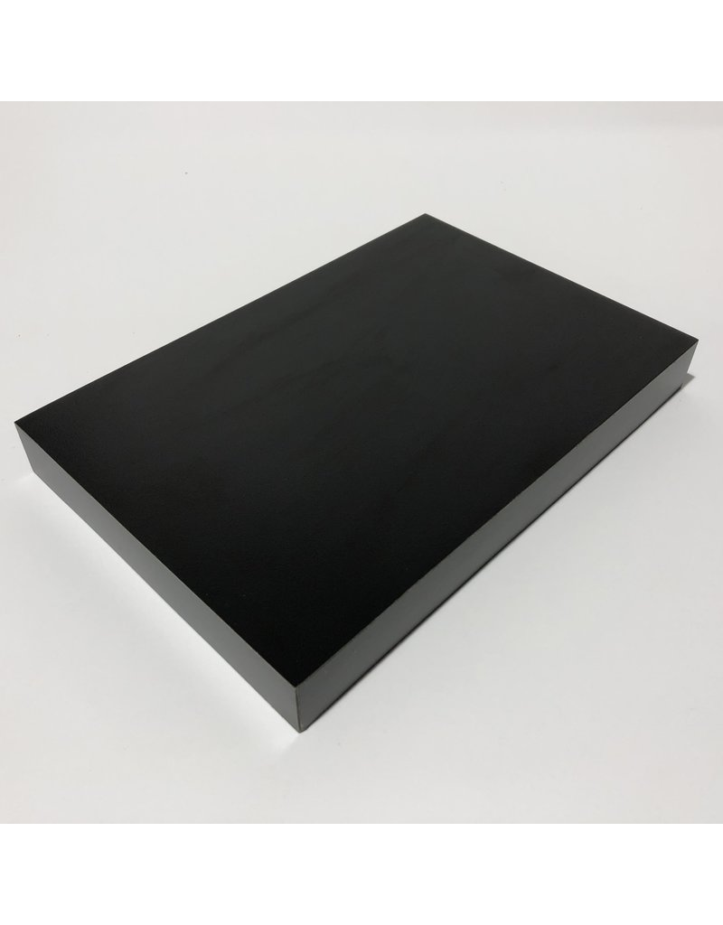 Just Sculpt Formica Base 9x6x1 Matte Black