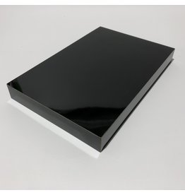 Just Sculpt Formica Base 9x6x1 Gloss Black